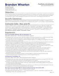 server resume objective resume badak