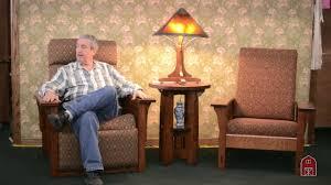 barn furniture amish morris chair recliner youtube