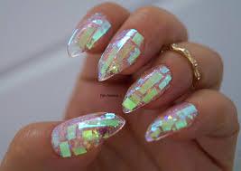 shattered glass nails nail designs nail art nails stiletto