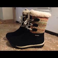 bearpaw womens boots size 9 39 bearpaw boots bearpaw ophelia boots in black size