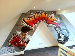 graffiti bedroom walls from a contemporary street artist