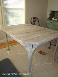 White Washed Kitchen Table by Kitchen Table Might Stain My Table With The Black Wash On Top