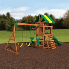 backyard discovery parkway wooden swing set assembly gopro time