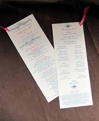 tea length wedding program template 37 best wedding program templates images on wedding