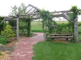 natural cedar pergola gardening pinterest cedar pergola