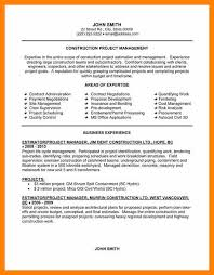 7 project management cv samples free format of notice
