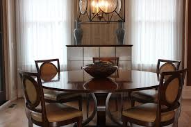 modern craftsman dining with modern gray dining chair dining room