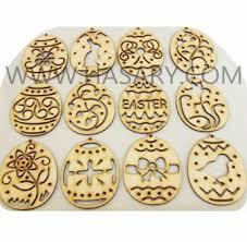 easter ornaments wood easter ornaments easter egg one dozen assorted buy