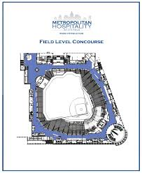 Foxwoods Floor Plan Citi Field Event Spaces Field Level Concourse New York Mets