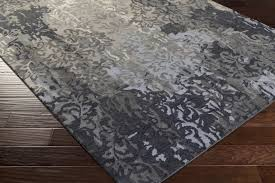 Slate Area Rug Surya Brocade Brc 1010 Charcoal Grey Slate Closeout Area Rug