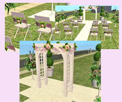 wedding arches in sims 3 mod the sims it s your day new wedding collection