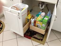 under sink trash pull out under sink garbage pull out kitchen remodel pinterest sinks