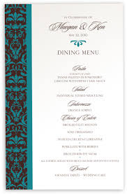 Wedding Invitations With Menu Cards Wedding Menu Cards U0026 Dinner Party Menu Cards Shop Menus For