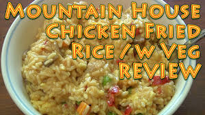 mountain house chicken fried rice review long term food storage