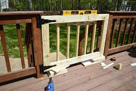 deckgate literally how to make a deck gate young house love