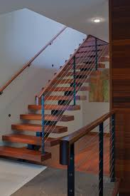 15 outstanding mid century modern staircase designs to bring you