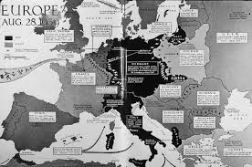Europe 1939 Map by Maps Europe Map 1939