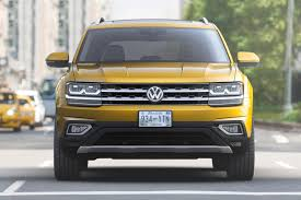 atlas volkswagen black seven seat vw atlas suv unveiled in the us by car magazine