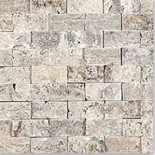 Oyster Maxi Split Face X Wall Tile An Interlocking Natural - Stacked stone tile backsplash