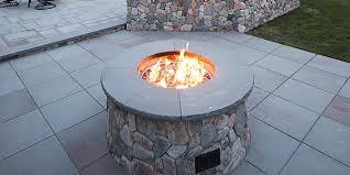 Wood Firepits Outdoor Gas And Wood Pits Mike Landscaping