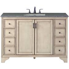 Bathroom Vanities Beach Cottage Style by Cottage Bathroom Vanities Bath The Home Depot