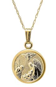 angel necklace pendant images Mignonette 14k gold guardian angel pendant necklace nordstrom jpg