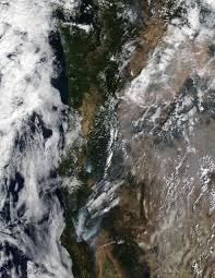 Wild Fires In Oregon State by Nasa U0027s Terra Satellite Focuses On Western Wildfires Nasa