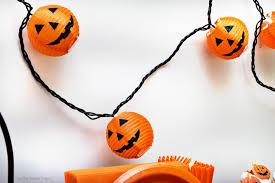 Orange Halloween String Lights Halloween Jack O U0027 Lantern Party As The Bunny Hops