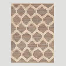 8x10 Jute Rug Gray Jiya Flat Woven Hemp Rug Moroccan Pattern Rug Features And
