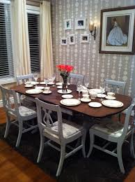 Dining Room Table Refinishing Duncan Phyfe Table 6 Chairs By Thistle Thatch Designs Thistle
