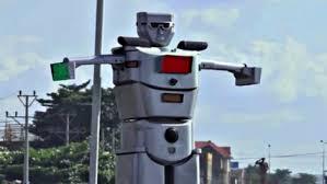 Solar Traffic Light - the congo u0027s solar powered robot as traffic controller cleantechnica