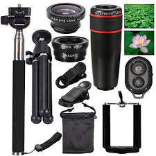 all in 1 accessories phone camera lens travel kit for iphone