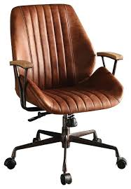 leather desk chair no arms acme furniture hamilton top grain leather office chair coffee
