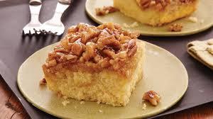 pecan upside down cake recipe bettycrocker com