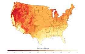 Time Change Map Usa by Agriculture National Climate Assessment