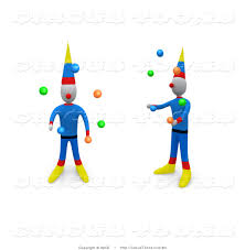 clowns juggling balls clown clipart two pencil and in color clown clipart two