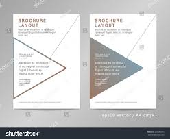 layout template en français annual report brochure leaflet cover page stock vector hd royalty
