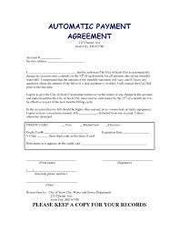 agreement car payment agreement form