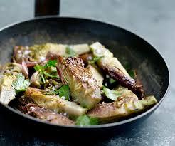 cuisiner coeur d artichaut recette facile poêlée de cœurs d artichauts au persil et à l ail