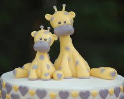 giraffe cake topper giraffe cake topper etsy