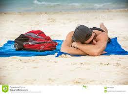 man in sunglasses sunbathing stock photo image 85570138