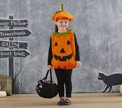 Infant Halloween Costumes Pumpkin Pumpkin Costume Pottery Barn Kids