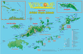 Map Of Caribbean Island by Getting To Know The British Virgin Islands