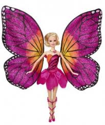 barbie mariposa fairy princess flying chariot 15
