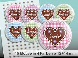 Cabochon Vorlagen Blau Cabochon Vorlage 12 Und 14 Mm Oktoberfest Herzen Collage Sheet