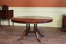 Antique Mahogany Dining Room Furniture by Round To Oval Mahogany Dining Table With Leaf 60 Round Dining