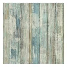 faux distressed wood peel u0026 stick wallpaper wall decal