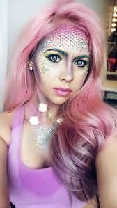 Mermaid Halloween Makeup Ideas 11 Best Make Up Work Images On Pinterest Lilac Hair Mermaid