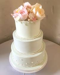 mint green wedding cake with pastel sugar flowers catherine