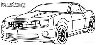 free coloring pages of mustang cars color pages of cars printable mustang coloring pages for kids free